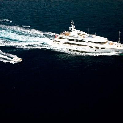 Latitude Yacht Running Shot - Tenders