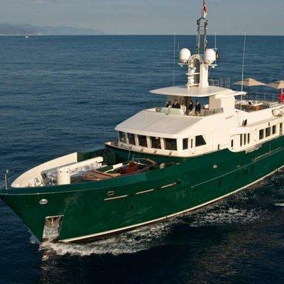 W Explorer Yacht Running Shot