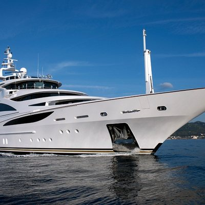 Diamonds Are Forever Yacht Side View