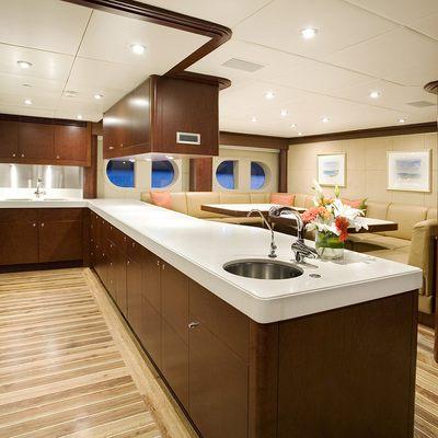 De Lisle III Yacht Galley