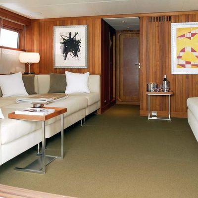 Il Cigno Yacht Upper Salon
