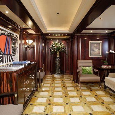 Freedom Yacht Hallway