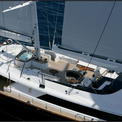 Parsifal III Yacht Deck View from Above