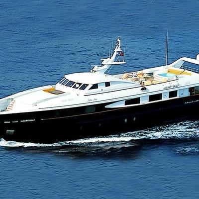 Sophie Blue Yacht Running Shot