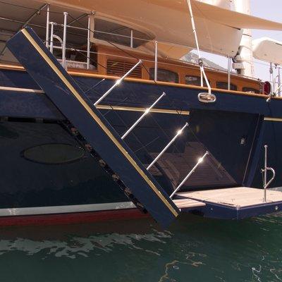 Athos Yacht Gangway