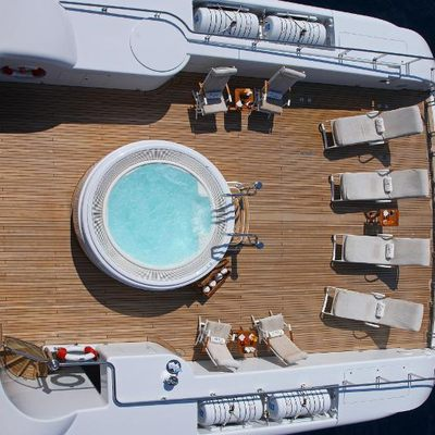 Capri I Yacht Aerial View - Jacuzzi