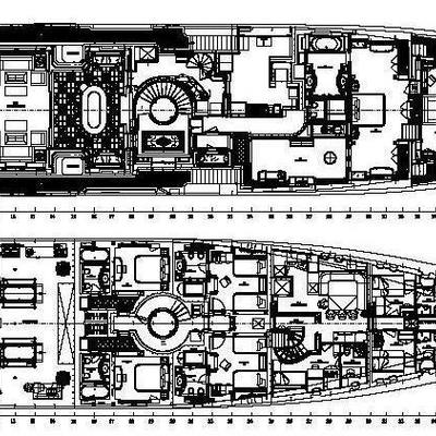 Bash Yacht Deck Plans