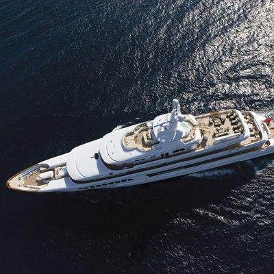 Utopia Yacht Aerial View