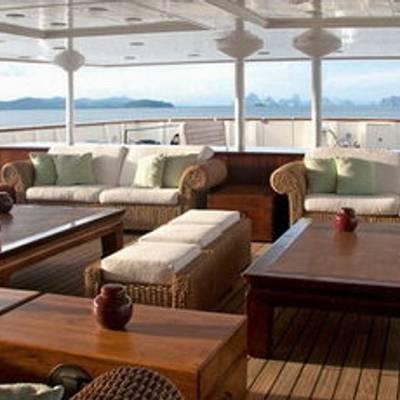 Bleu De Nimes Yacht Aft Deck