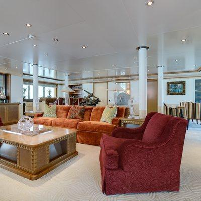 Pegasus VIII Yacht Salon 1