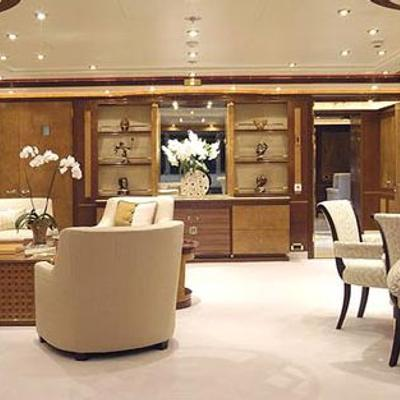 Sea Walk Yacht Main Salon
