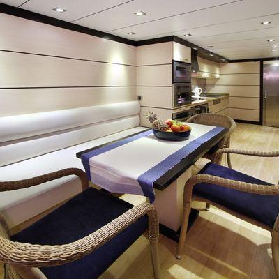Perla del Mare Yacht Galley