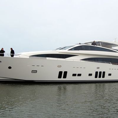Arion Yacht Side View