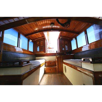 Sunshine Yacht Cockpit