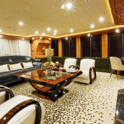 Lady MM Yacht Main Salon - Seating