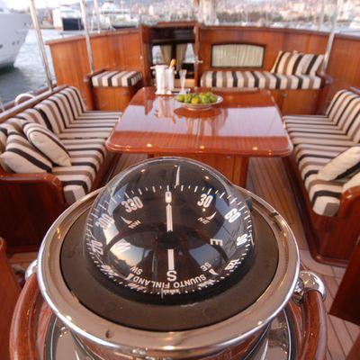 Gweilo Yacht Detail