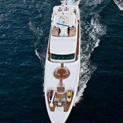 Olmida Yacht Aerial View