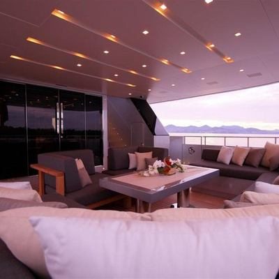 Bliss Easy Yacht Aft Deck
