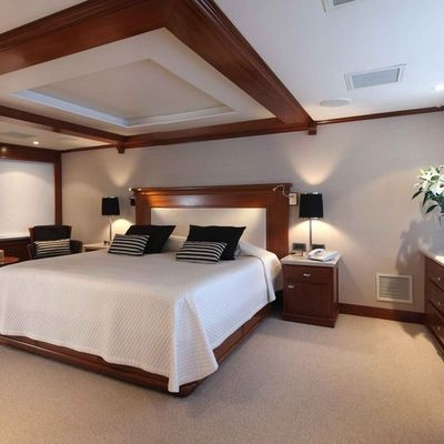 Asteria Yacht Master Stateroom