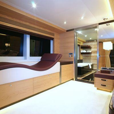 Tatiana Yacht Master Stateroom - Seating