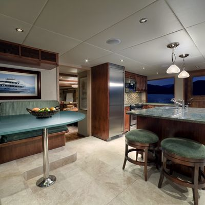 Empire Sea Yacht Galley
