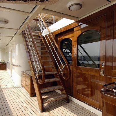 Athena Yacht Exterior - Side