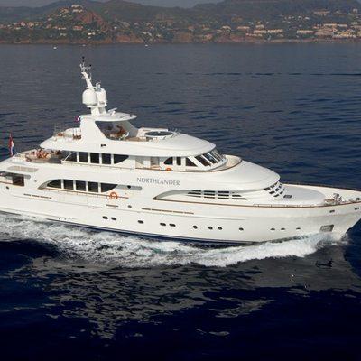Northlander Yacht Running Shot - Profile