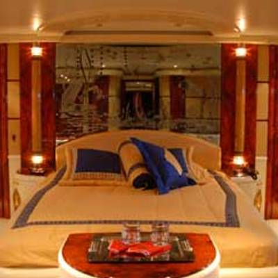 Crocus Yacht Master bedroom