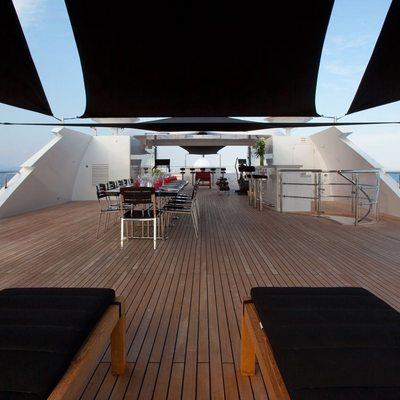 Idol Yacht Bridge Deck Loungers