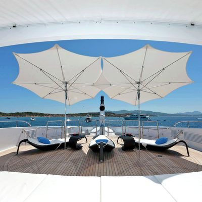 Inception Yacht Bow Deck - Loungers