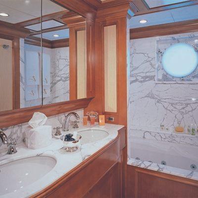 Lou Spirit Yacht Guest Bathroom