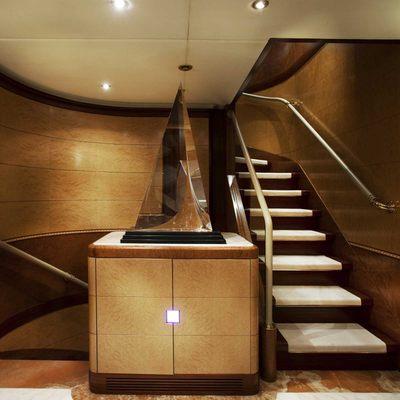 Jaguar Yacht Staircase