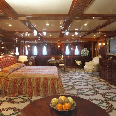 SS Delphine Yacht Master Stateroom