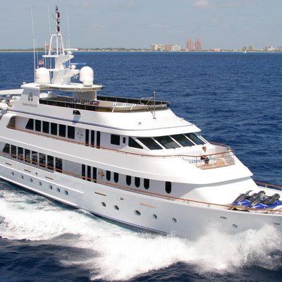 Ionian Princess Yacht Running Shot