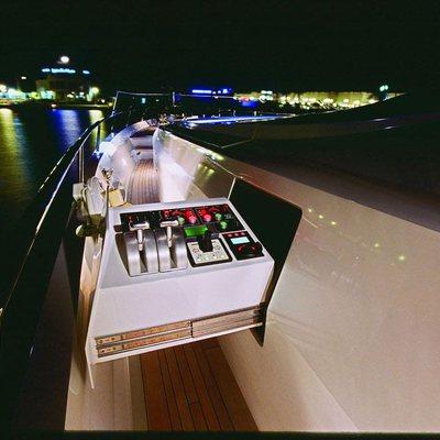 Escape II Yacht Side Terrace