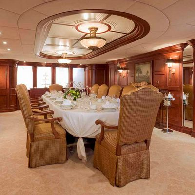 Nomad Yacht Dining Salon