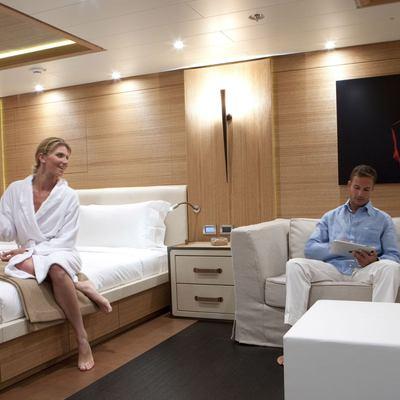 Spirit Yacht Master Stateroom & Salon