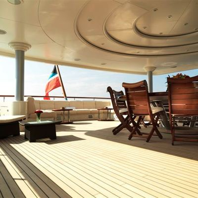 Tommy Yacht Upper Aft Deck