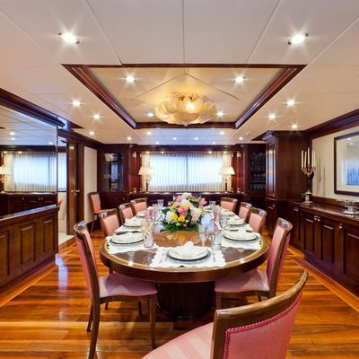 Sophie Blue Yacht Dining Table