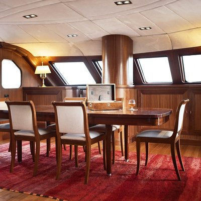 Aiglon Yacht Dining Salon