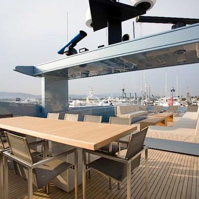 Seakid Yacht Deck Dining