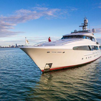 Usher Yacht Photos 47m Luxury Motor Yacht For Charter