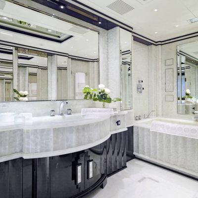 Silver Angel Yacht Bathroom