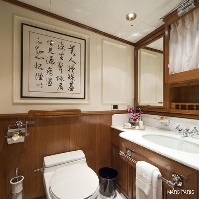 Seawolf Yacht Private Bathroom