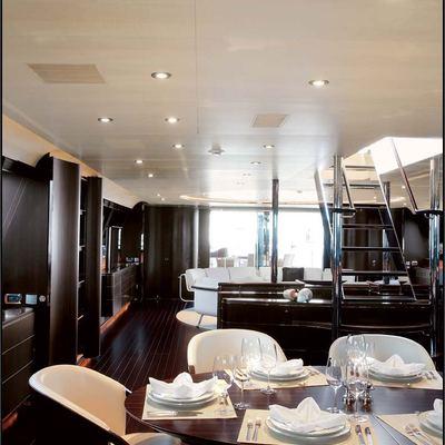 Parsifal III Yacht Salon/Bar