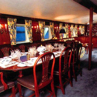Trafalgar Yacht Dining Area