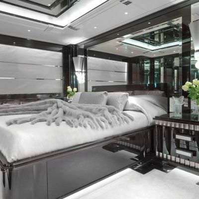 Silver Angel Yacht Guest Stateroom - Bed