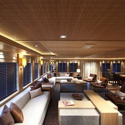 Naia Yacht Main Salon