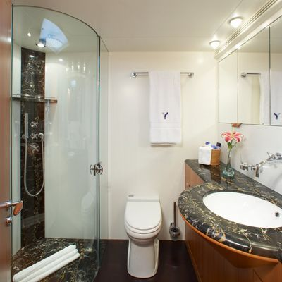 A Sulana Yacht Ensuite Bathroom