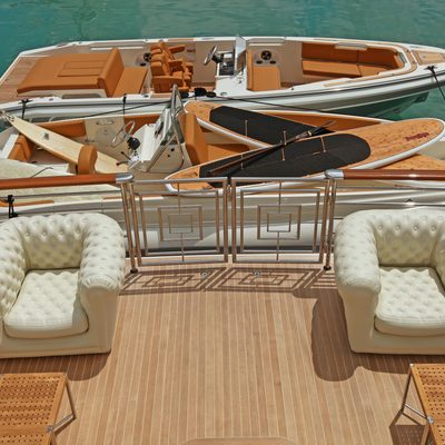 Carpe Diem Yacht Tenders Alongside